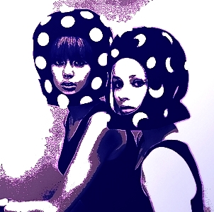 Pattie Boyd and Celia Hammond 03