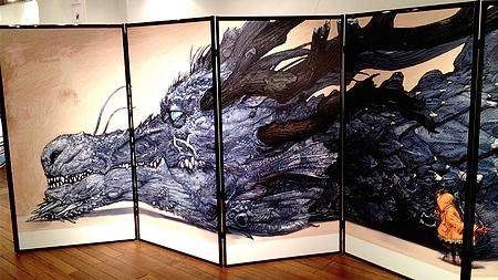 寺田克也ココ10年展 2013