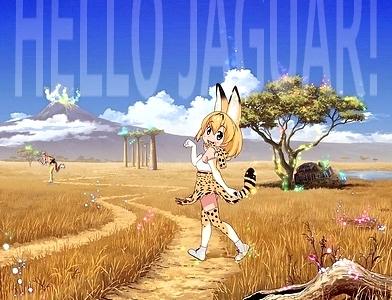 kemono friends jaguar 02