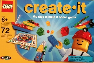 LEGO Create-It Board Game