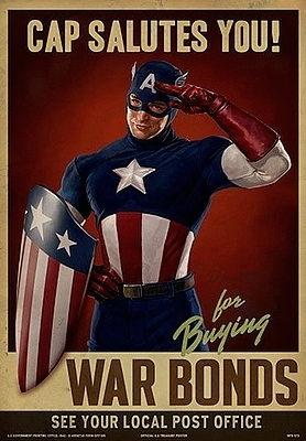 Captain America Cap Salutes You
