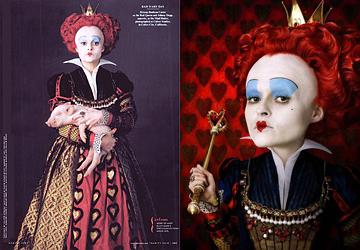 Vanity Fair:赤の女王
