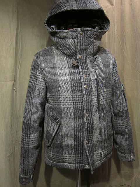 f666c0d09 THE NORTH FACE PURPLE LABEL』 Harris Tweed Short Down Parka ...
