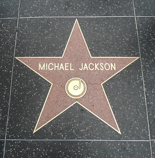 Michael Jackson - 6927 Hollywood Blvd. (E-7) on The Zale Map - Photo taken 3-16-2012 by Danny Zale.JPG