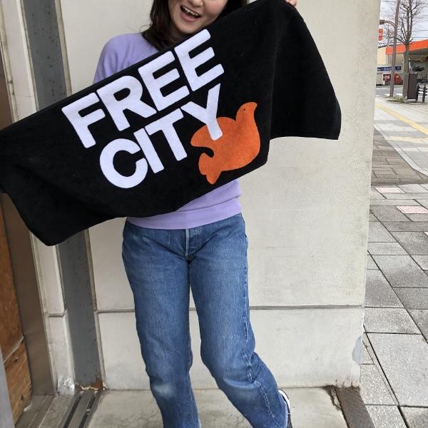 FREECITY DOVE タオル.jpg