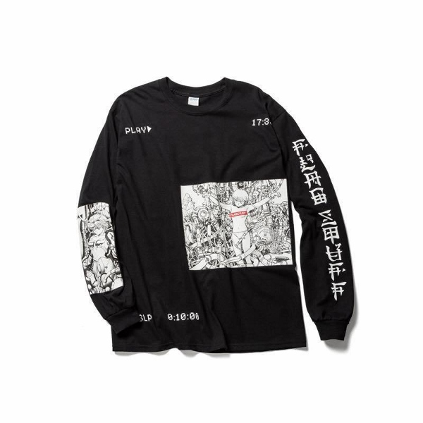 F-LAGSTUF-F フラグスタフ PLAY LS Tee BLACK.jpg