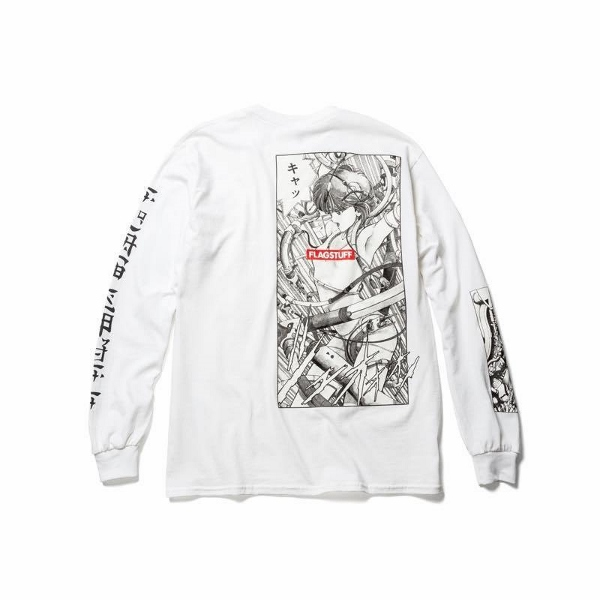 F-LAGSTUF-F フラグスタフ PLAY LS Tee WHITE back.jpg