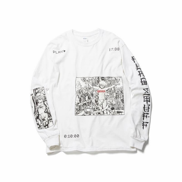 F-LAGSTUF-F フラグスタフ PLAY LS Tee WHITE.jpg