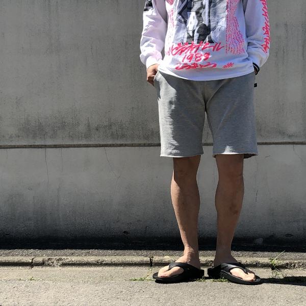 SWEET PANTS ベーシックショーツ グレー L (600x600).jpg