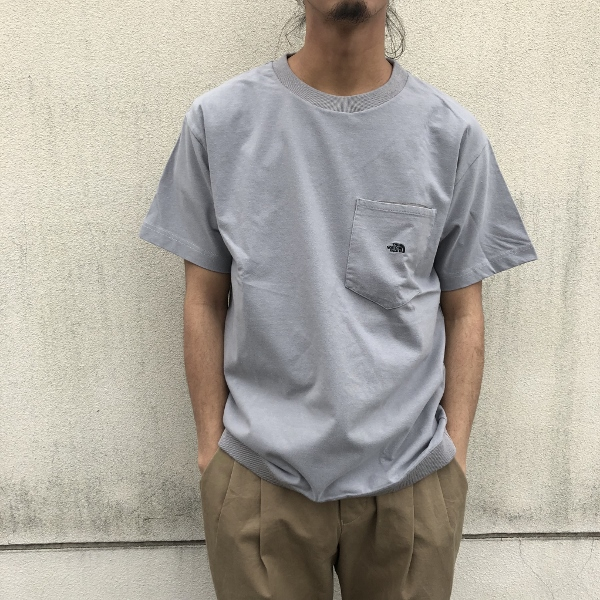 High Bulky HS Pocket Tee グレー (600x600).jpg