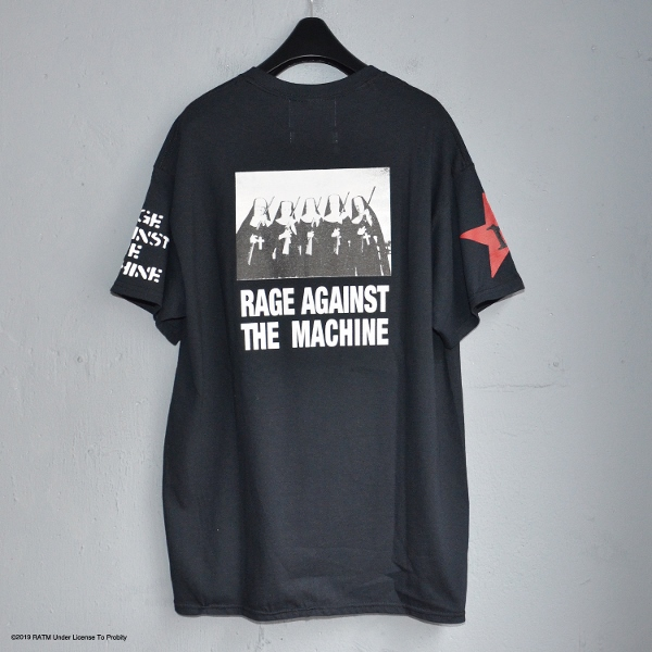 Rage Against Machine Multi Tee ブラック ラブラット (600x600).jpg
