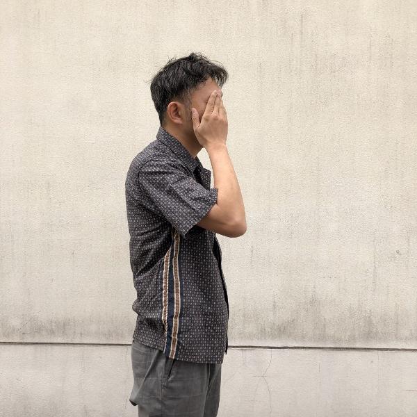 レミレリーフ バンダナ小紋柄シャツ REMI (600x600).jpg