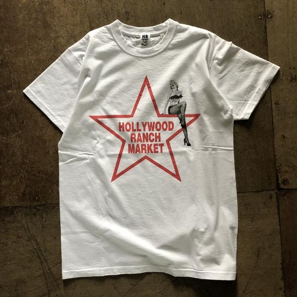 MARILYN MONROE・HRM スターTシャツ ホワイト (600x600).jpg