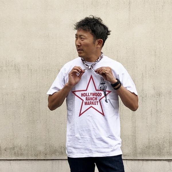 MARILYN MONROE・HRM スターTシャツ 白 (600x600).jpg