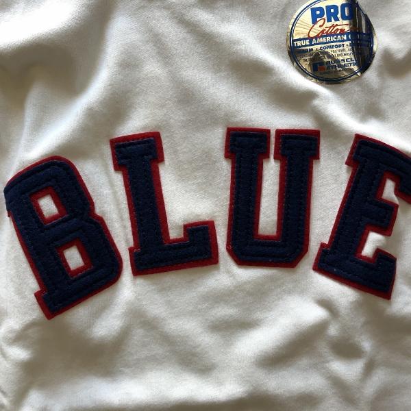 RUSSELL・BLUE BLUE BLUEパッチTシャツ ワッペン (600x600).jpg
