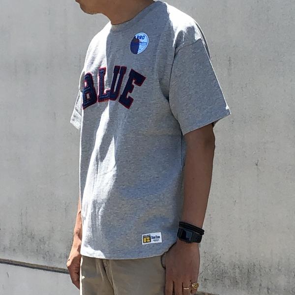 RUSSELL・BLUE BLUE BLUEパッチTシャツ 着用 (600x600).jpg