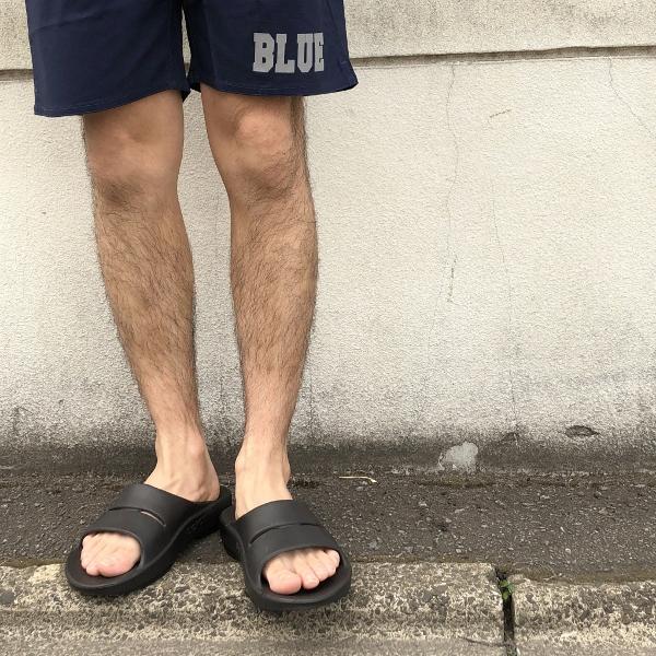 RUSSELL・BLUE BLUE リップストップ ストレッチショーツ 膝丈 (600x600).jpg