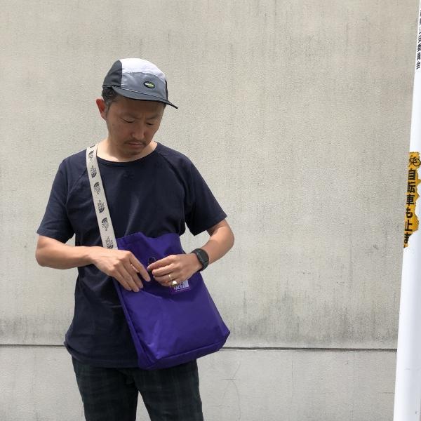 X-Pac Shoulder Bag ノースフェイス 着用 (600x600).jpg