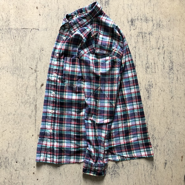 JOURNEYエンブロイダリー マドラスチェックシャツ ホワイト (600x600).jpg