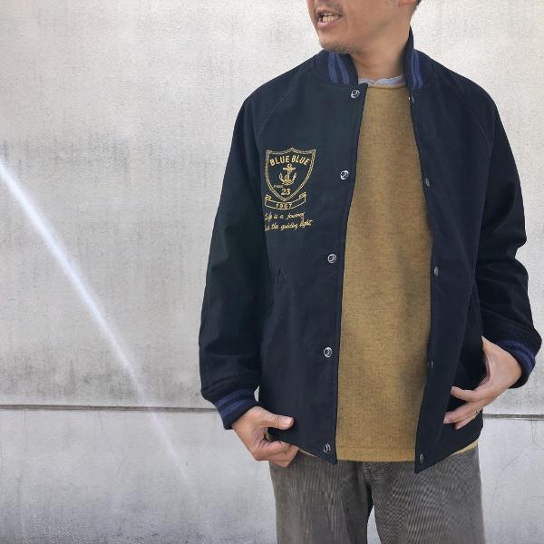 ストレッチモールスキン BBジャーニー EMBラグランアワードジャケット コーデ (600x600).jpg
