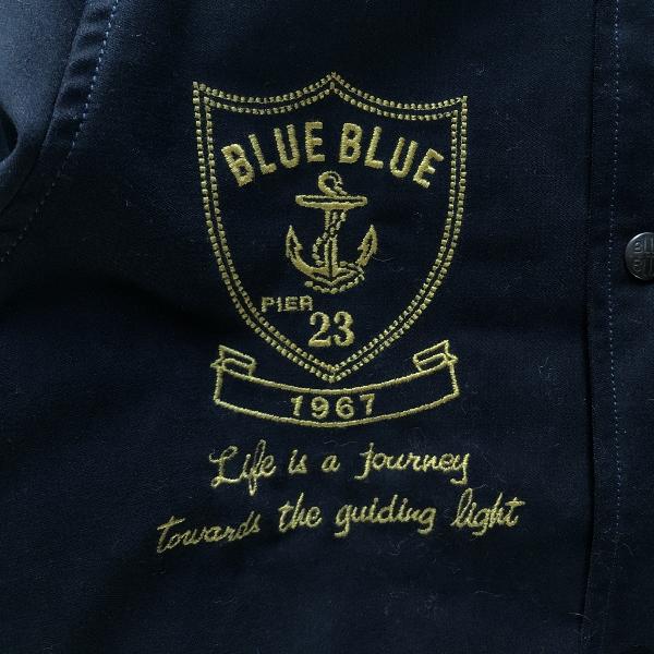 ストレッチモールスキン BBジャーニー EMBラグランアワードジャケット ブルーブルー (600x600).jpg