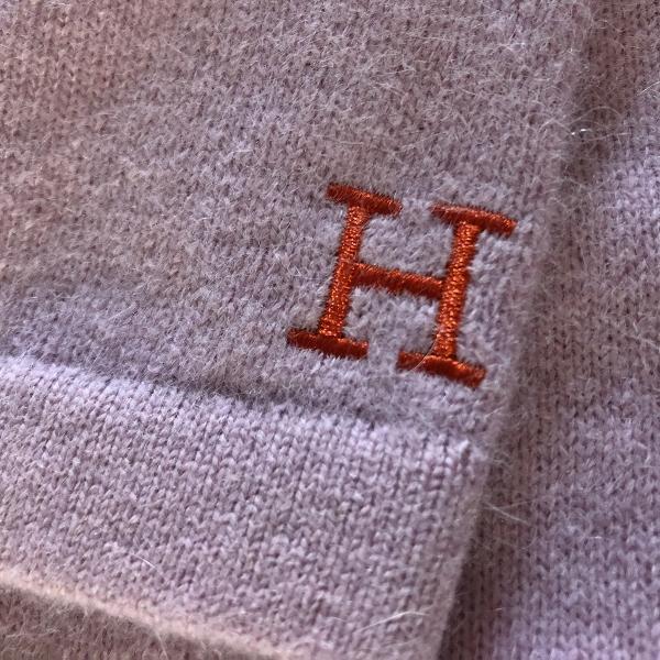 メリノコットン アンゴラクルーネックセーター ハリウッドランチマーケット HRM (600x600).jpg