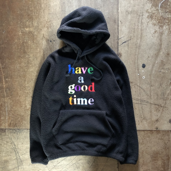 COLORFUL LOGO FLEECE PULLOVER HOODIE have a good time (600x600).jpg
