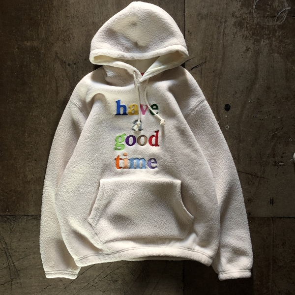 COLORFUL LOGO FLEECE PULLOVER HOODIE have a good time CREAM (600x600).jpg