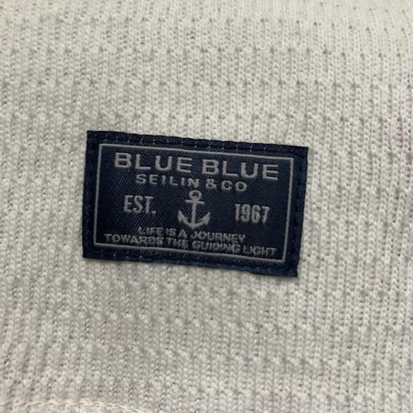 FRUIT OF THE LOOM・BLUE BLUE コットンワッフル パックTシャツ タグ (600x600).jpg