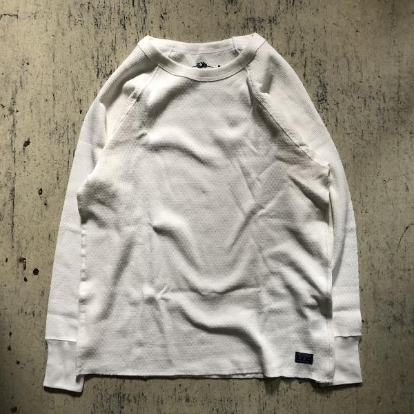 FRUIT OF THE LOOM・BLUE BLUE コットンワッフル パックTシャツ ホワイト (600x600).jpg