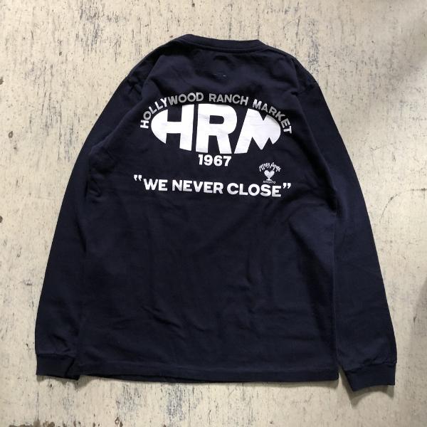 NEW HRM WONDER バックプリントロングスリーブTシャツ Dネイビー (600x600).jpg