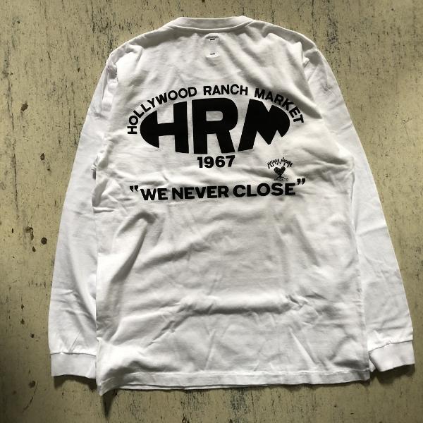 NEW HRM WONDER バックプリントロングスリーブTシャツ ホワイト (600x600).jpg