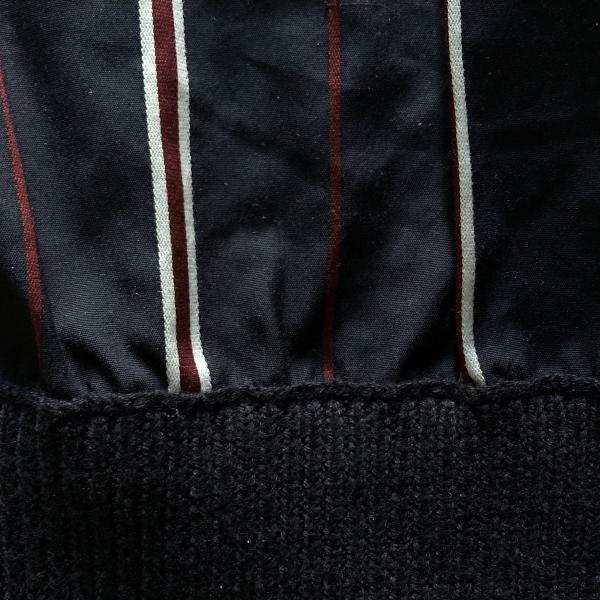 フレッドペリー Men Stripe Panelled Crew Neck Knit 切り返し (600x600).jpg