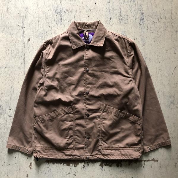 Herringbone Twill C.P.O Jacket ノースフェイス ダークベージュ (600x600).jpg