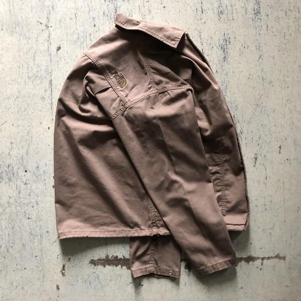 Herringbone Twill C.P.O Jacket ノースフェイス ダークベージュ ナナミカ (600x600).jpg
