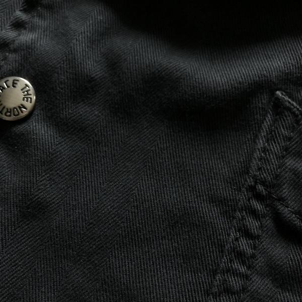 Herringbone Twill C.P.O Jacket ノースフェイス ブラック (600x600).jpg