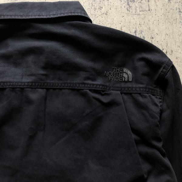 Herringbone Twill C.P.O Jacket ノースフェイス ロゴ (600x600).jpg