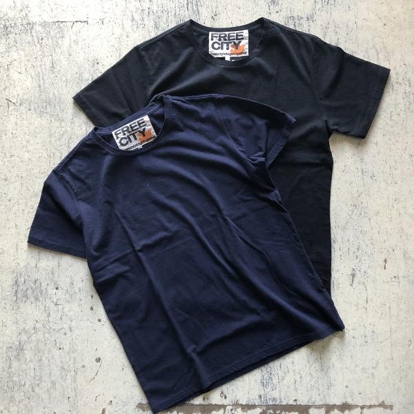 トライアングルパッチ ソフトコットンTシャツ (600x600).jpg