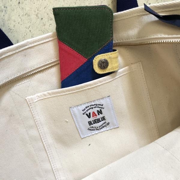 VAN JACKET・BLUE BLUE キャンバストートバッグ デニム 内ポケット (600x600).jpg