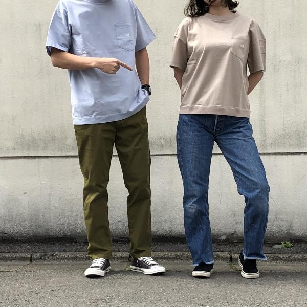 High Bulky HS Pocket Tee northface 着用 (600x600).jpg