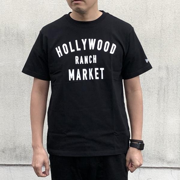 HOLLYWOOD RANCH MARKET NEW ERA×HRM  HR MARKET ショートスリーブTシャツ  L (600x600).jpg