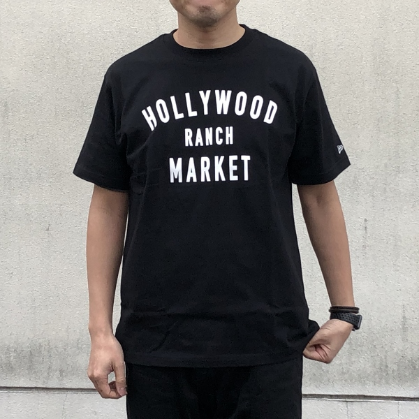 HOLLYWOOD RANCH MARKET NEW ERA×HRM  HR MARKET ショートスリーブTシャツ  M (600x600).jpg