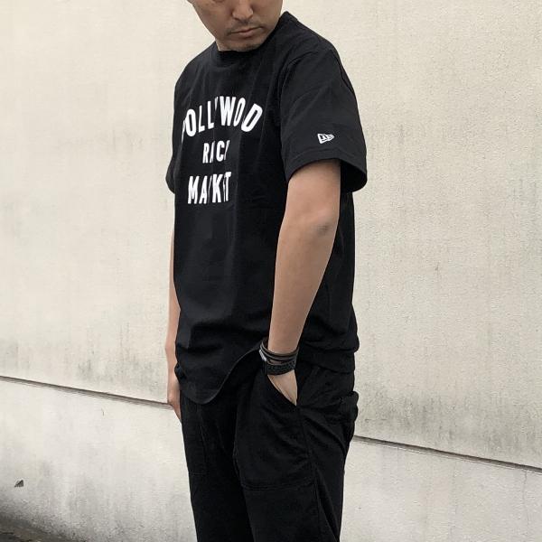 HOLLYWOOD RANCH MARKET NEW ERA×HRM  HR MARKET ショートスリーブTシャツ  袖 (600x600).jpg