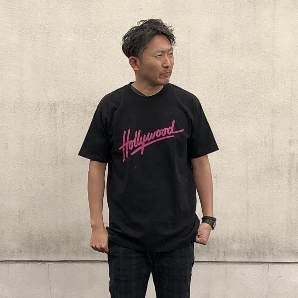 SCREEN STARS・HRM ネオンサインHOLLYWOOD Tシャツ XL (600x600).jpg