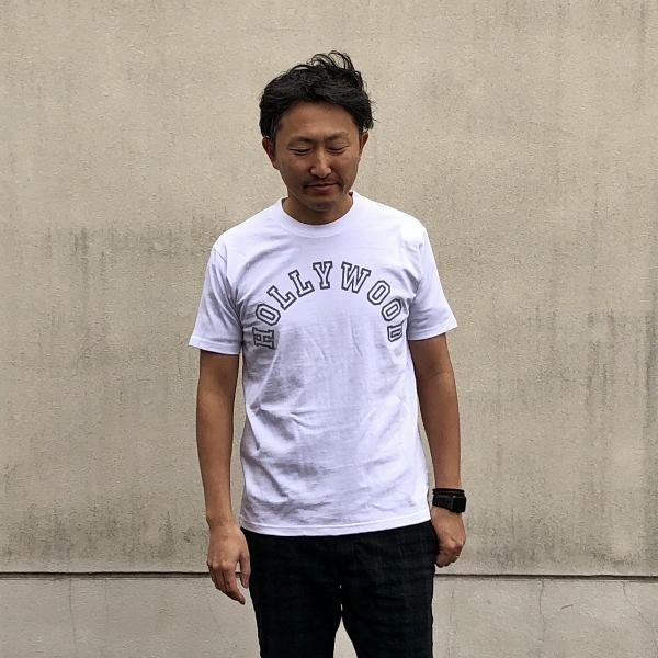 SCREEN STARS・HRM カレッジHOLLYWOOD Tシャツ M (600x600).jpg