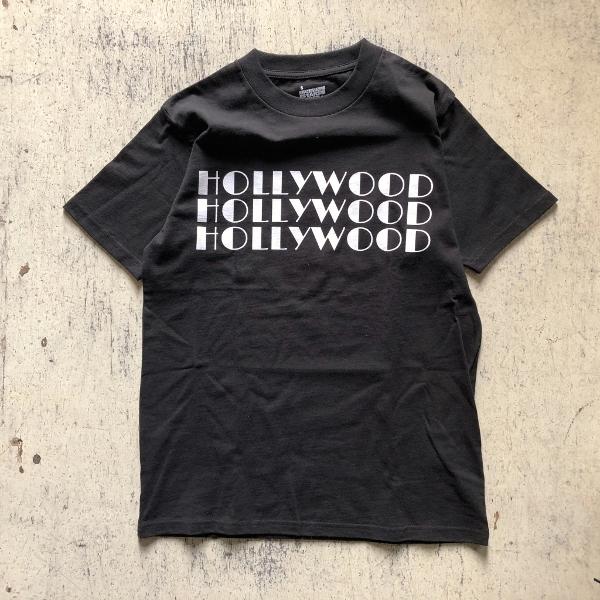 SCREEN STARS・HRM 3HOLLYWOOD Tシャツ ブラック (600x600).jpg