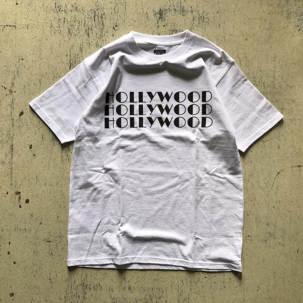 SCREEN STARS・HRM 3HOLLYWOOD Tシャツ ホワイト (600x600).jpg