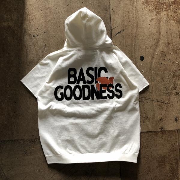 フリーシティー BASIC GOODNESS ジャージーカットオフプルフーディ ホワイト (600x600).jpg