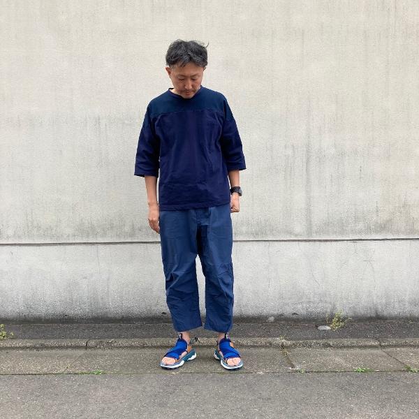 THE NORTH FACE PURPLE LABEL クロップドパンツ 着用 (600x600).jpg