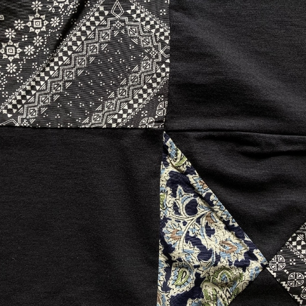 THE NORTH FACE PURPLE LABEL Patchwork HS Tee black パッチワーク (600x600).jpg